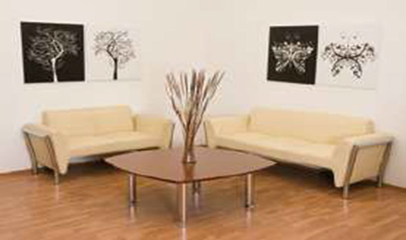 Sala de espera tempo muebles comerciales for Muebles sala de espera