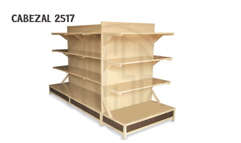 Gondolas cabezal 2517 muebles comerciales for La gondola muebles