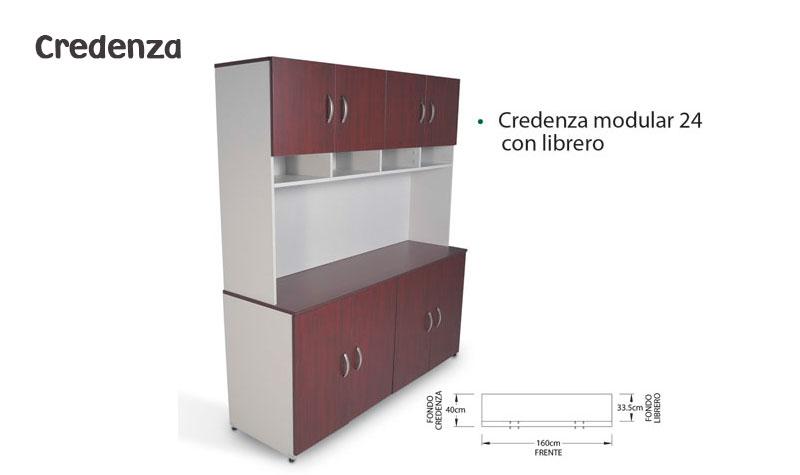 Credenza Con Librero : Credenza modular u muebles comerciales